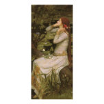 Ophelia (By the Pond) JW Waterhouse, Victorian Art Invitations