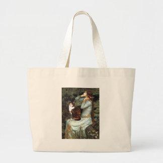 Ophelia - Calico cat Large Tote Bag