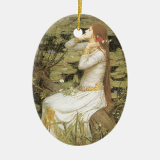 Ophelia Ceramic Ornament