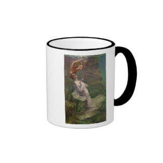 Ophelia Drowning, 1895 Ringer Coffee Mug