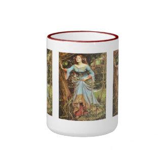 Ophelia Fine Art Ringer Coffee Mug