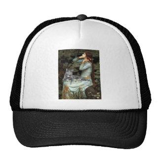 Ophelia - Grey cat Hat