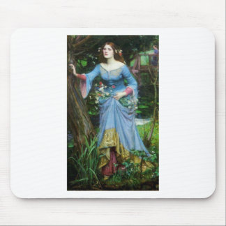OPHELIA in the woods (insert your own image) Mouse Pad