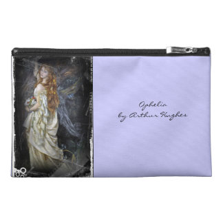 Ophelia in White Travel Accessory Bag