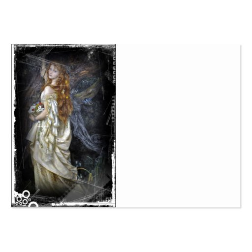 Ophelia in White Business Card