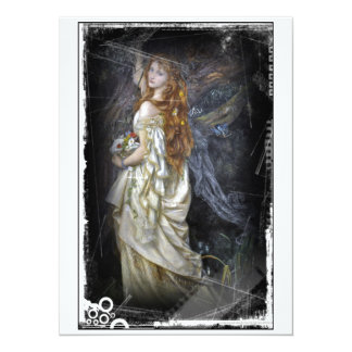 Ophelia in White Card