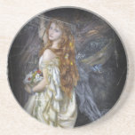 Ophelia in White Drink Coaster
