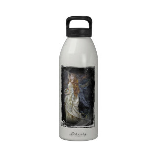 Ophelia in White Reusable Water Bottles