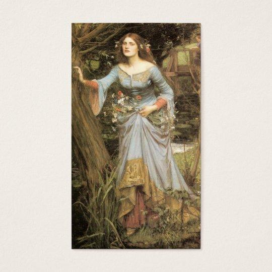 Ophelia - John William Waterhouse Business Card