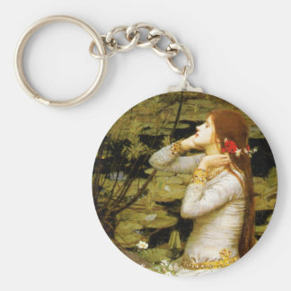 [Ophelia] John William Waterhouse Keychain