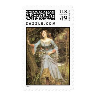 Ophelia - John William Waterhouse Postage Stamps