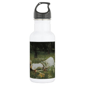 Ophelia [John William Waterhouse] Water Bottle