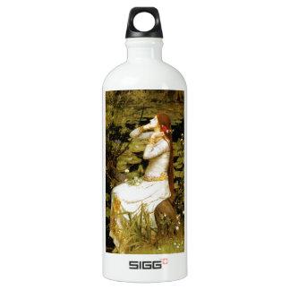[Ophelia] John William Waterhouse Water Bottle