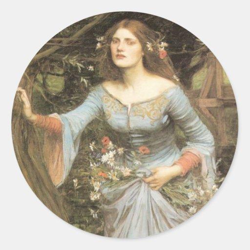 Ophelia Large Sticker