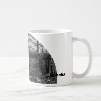 Ophelia Classic White Coffee Mug