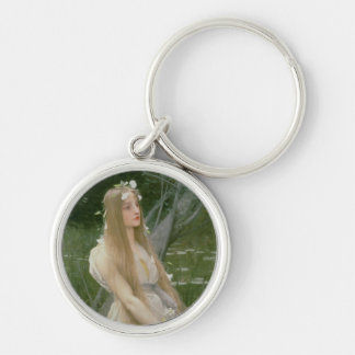 Ophelia (oil on canvas) keychain
