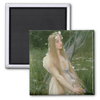 Ophelia (oil on canvas) magnet