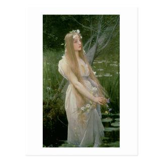 Ophelia (oil on canvas) postcard