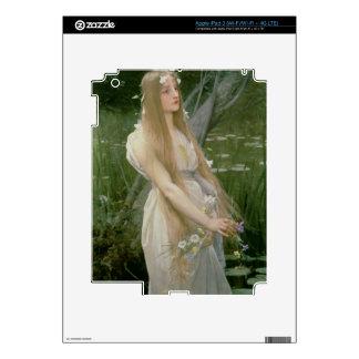 Ophelia (oil on canvas) iPad 3 decals