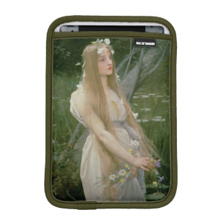 Ophelia (oil on canvas) sleeve for iPad mini