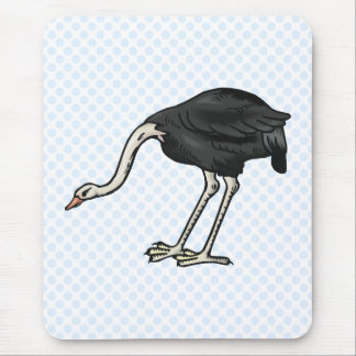 Ophelia Ostrich Mouse Pad