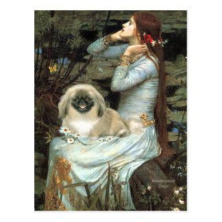 Ophelia - Pekingese 1b Postcard