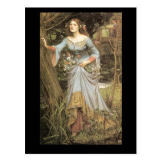 Ophelia Postcard