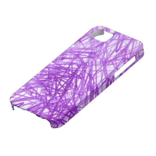 Ophelia Purple iPhone SE/5/5s Case