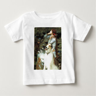 Ophelia Seated -  Basenji Baby T-Shirt