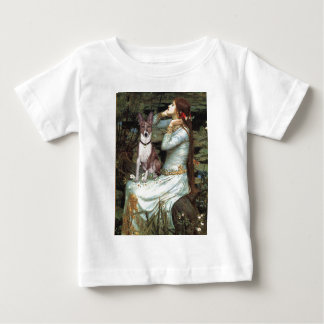 Ophelia Seated - Basenji (K) Baby T-Shirt