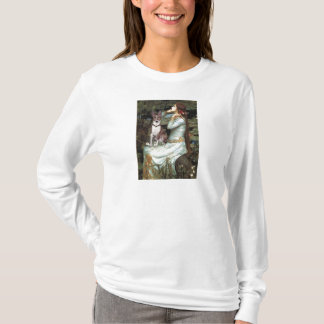 Ophelia Seated - Basenji (K) T-Shirt