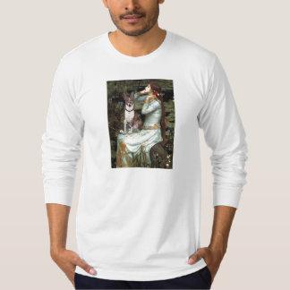 Ophelia Seated - Basenji (K) T-Shirt