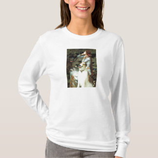 Ophelia Seated -  Basenji T-Shirt