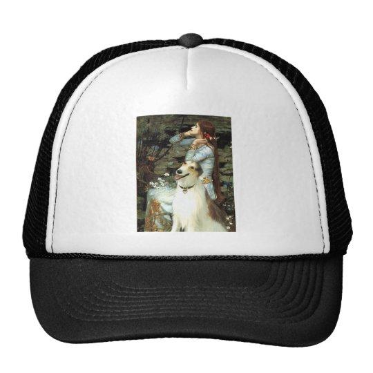 Ophelia Seated -  Basenji Trucker Hat
