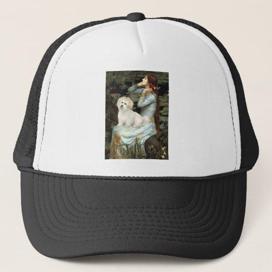 Ophelia Seated - Coton de Tulear 7 Trucker Hat