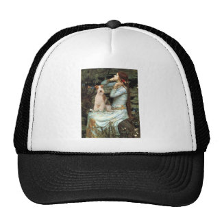 Ophelia Seated - Wire Fox Terrier 3 Hats