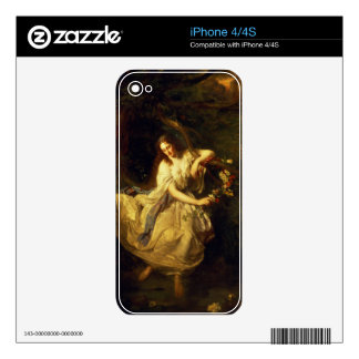 Ophelia Skin For The iPhone 4