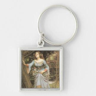 Ophelia Square Keychain