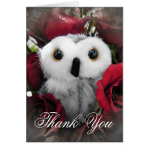 Ophelia & The Vintage Roses - Thank You Card