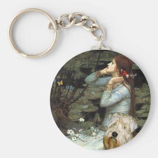Ophelia - Wheaten Terrier Keychain