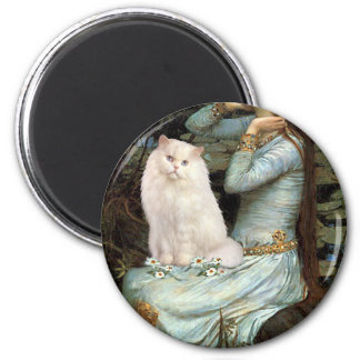 Ophelia - White persian cat #13 Magnet