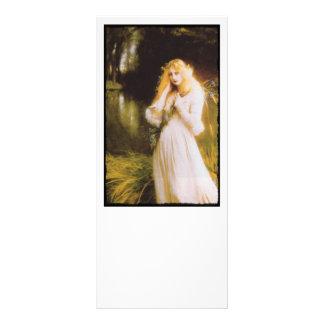 Ophelia with Haunted Eyes Rack Card