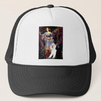 Ophelia (Woods)-2 Standard Poodles Trucker Hat