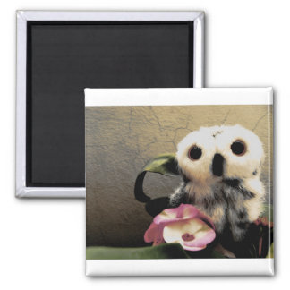 Ophelia's Pink Friends Refrigerator Magnet
