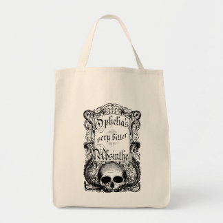Ophelia's Very Bitter Absinthe Tote Bags