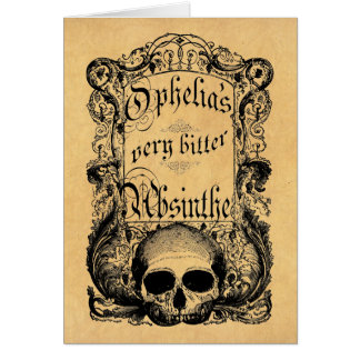 Ophelia's Very Bitter Absinthe Cards