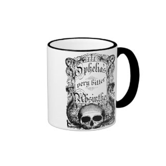 Ophelia's Very Bitter Absinthe Ringer Coffee Mug