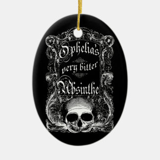 Ophelia's Very Bitter Absinthe Ornament