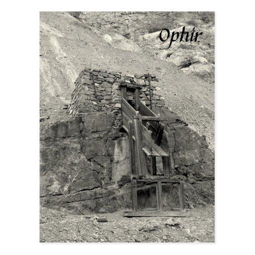 Ophir Postcard
