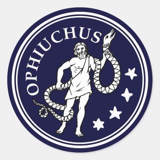 Ophiuchus Classic Round Sticker